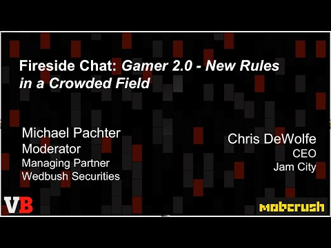 Chris DeWolfe — New rules for the crowded mobile gaming space
