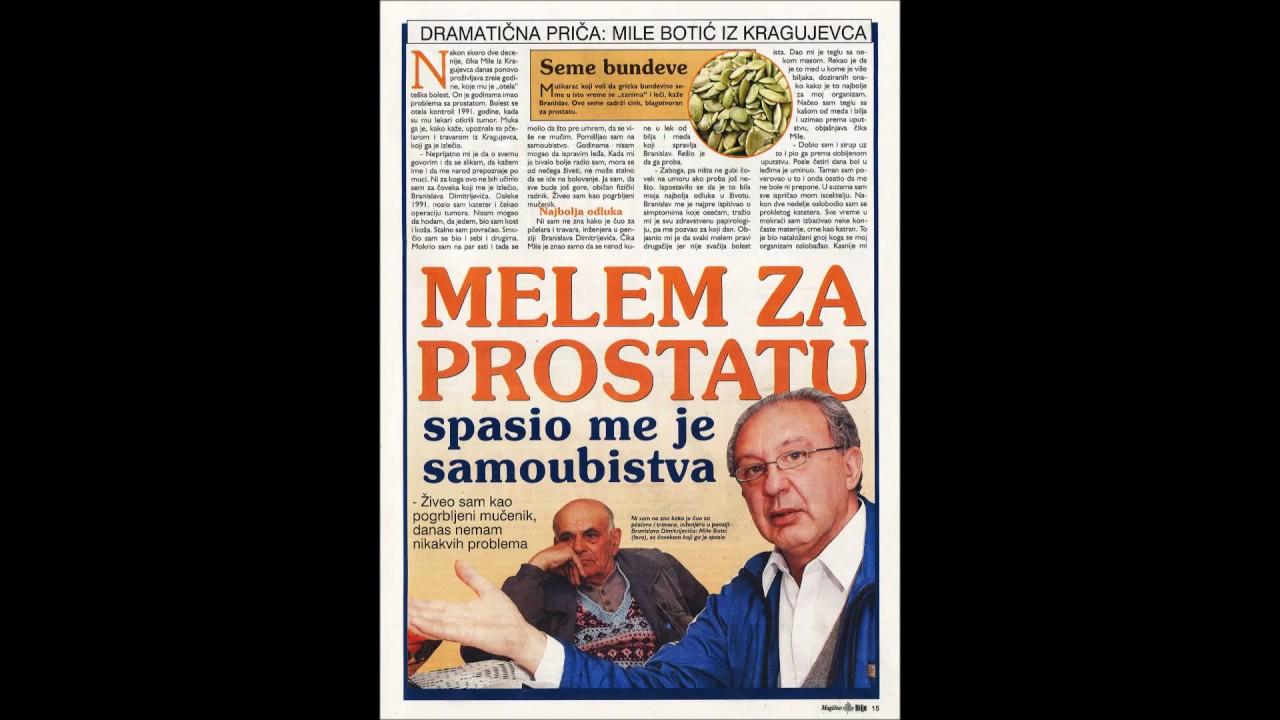 prirodno lecenje prostate