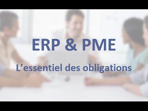 ERP et PMR: l'essentiel des obligations en 5 minutes