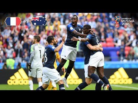 Gol 2 francia Australia