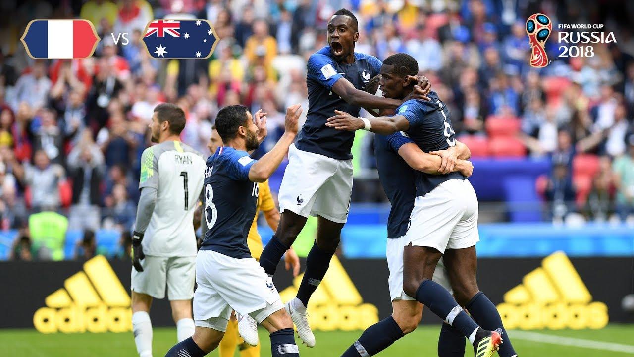 Download France goal 2 v Australia - MATCH 5