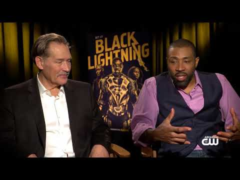 with Cress Williams & James Remar of