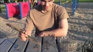 Metal Detecting School Playgrounds - Short 2nd Day - May 29 2013 - Hudson Bay Saskatchewan Canada