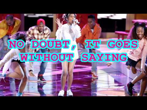 Aliyah Moulden - Never Be Lonely (The Voice Performance - Original Song) - Lyrics
