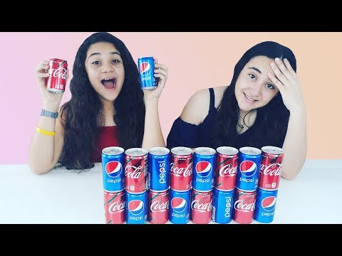 No elijas la Coca Cola o Pepsi incorrecta Slime challenge. Don't choose the wrong coca cola or pepsi