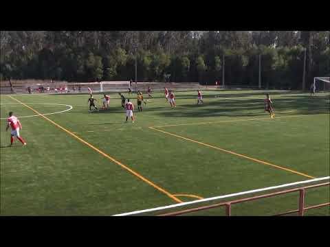 Futebol / Popular de Espinho /   A Ronda X Águias de Paramos / 1ª Parte  / Nov. 2017