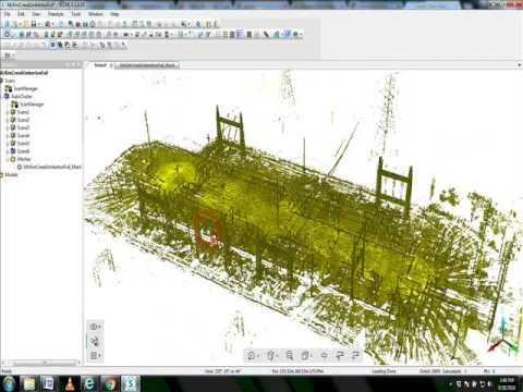 Faro Scene 6 Mesh Vs Point Cloud Detail Youtube