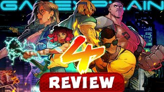 Streets of Rage 4 - REVIEW (Video Game Video Review)