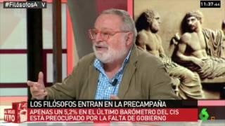 Fernando Savater en Al Rojo Vivo