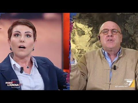"""Alberto Forchielli a """"Non è l'Arena"""""""