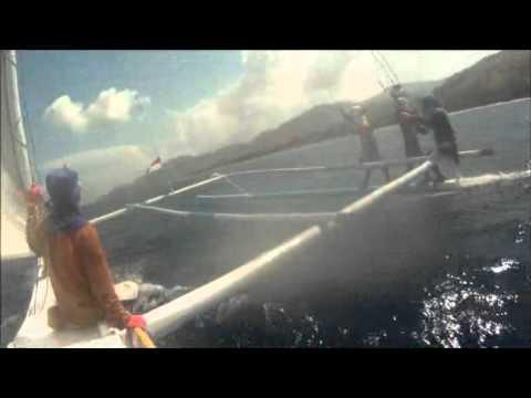 Majene sandeq 2011 proa sail
