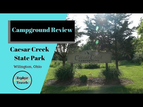 Our First Stay At An Ohio State Park! Caesar Creek Campground | ZEPHYR TRAVELS - Campground Review