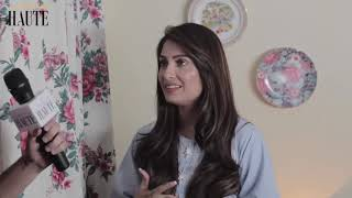 Aiza Khan telling about her character of her new drama Mery Pass tum ho...