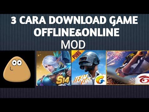 3 Cara Download Game Offline/online Mod