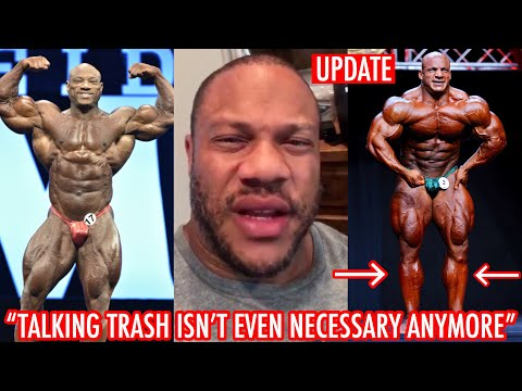 PHIL HEATH EMBRACING HIS HATERS 12 WEEKS OUT MR OLYMPIA