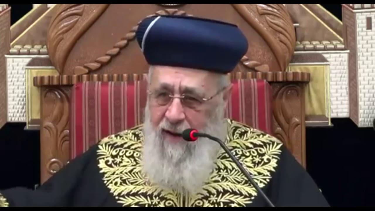 """הראש""""ל רבי יצחק יוסף: הניסים ב'יום ירושלים'"""