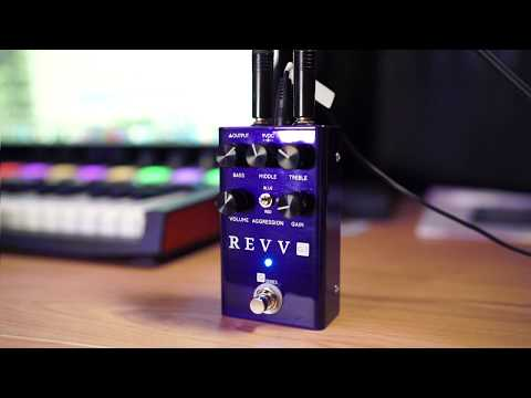 Shred The 80's - REVV Amplifications G3 Pedal