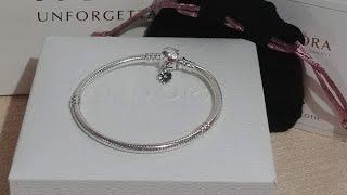 Pandora Moments Daisy Flower Clasp Snack Bracelet (Actual ...