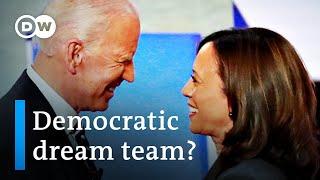 Joe Biden picks Kamala Harris as running mate in US presidential election | DW News