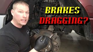 Ford Quick Tips #73: Quickly Diagnose a Sticking Brake Caliper w/ One Simple Test