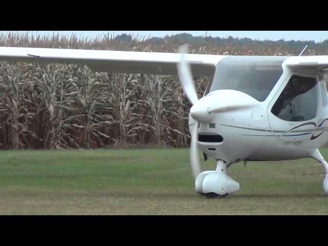 Flight Design Gmbh CTLS | Takeoff | N962LS | Stanton Airfield