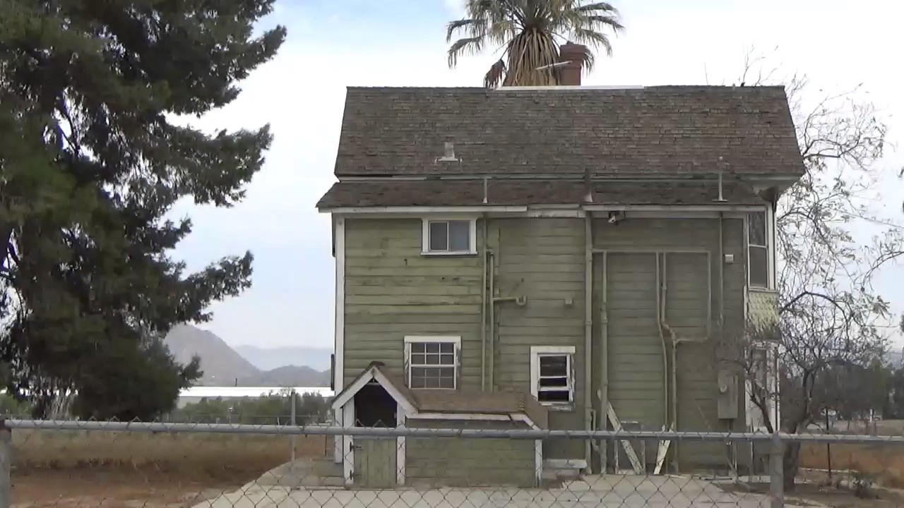 Mysterious Old House Perris California