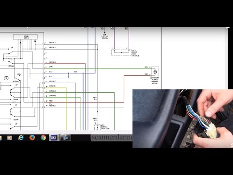 how to test a power window switch motor (1985 2001 toyota) youtube Toyota Camry Electrical Wiring Diagram