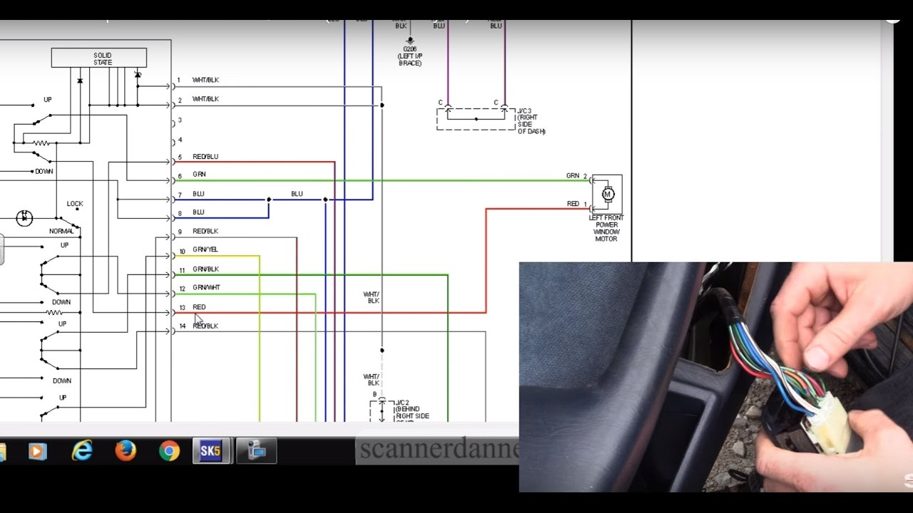How to test a power window switchmotor (19852001 Toyota)  YouTube