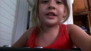 Inscrição para o the voice kids Lara Emanuela Freitag Brolini