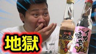 納豆味と塩辛味の罰ゲームサイダーがクソまず過ぎてヤバい!! thumbnail