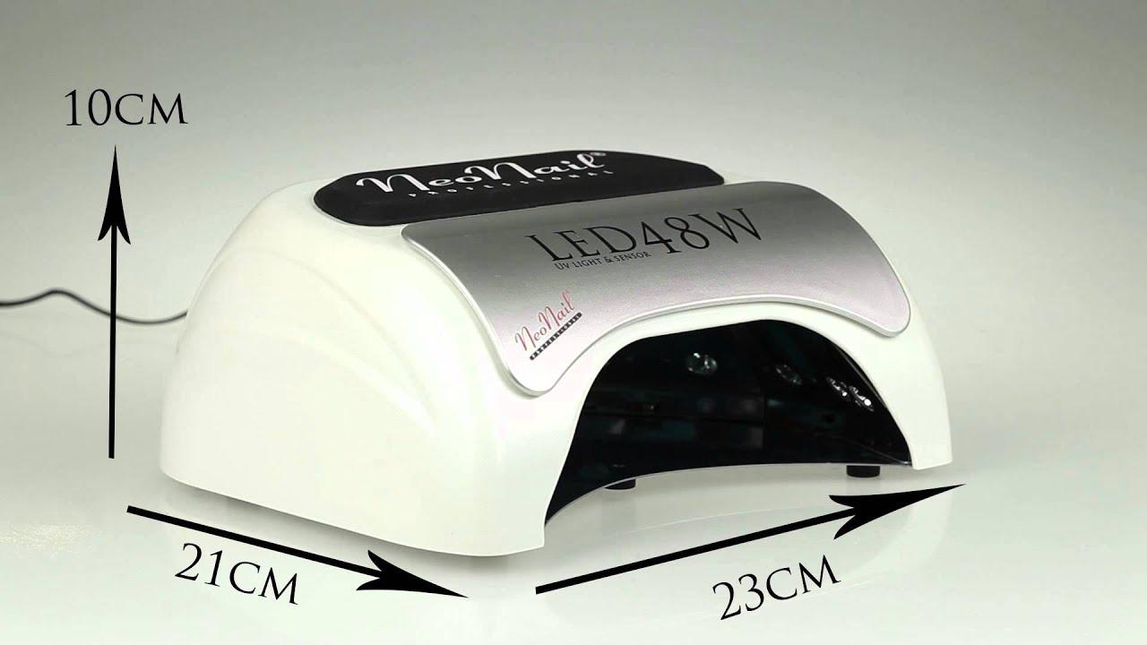 Lampe Mit Sensor : led uv lampe 48w mit sensor lcd timer youtube ~ Watch28wear.com Haus und Dekorationen