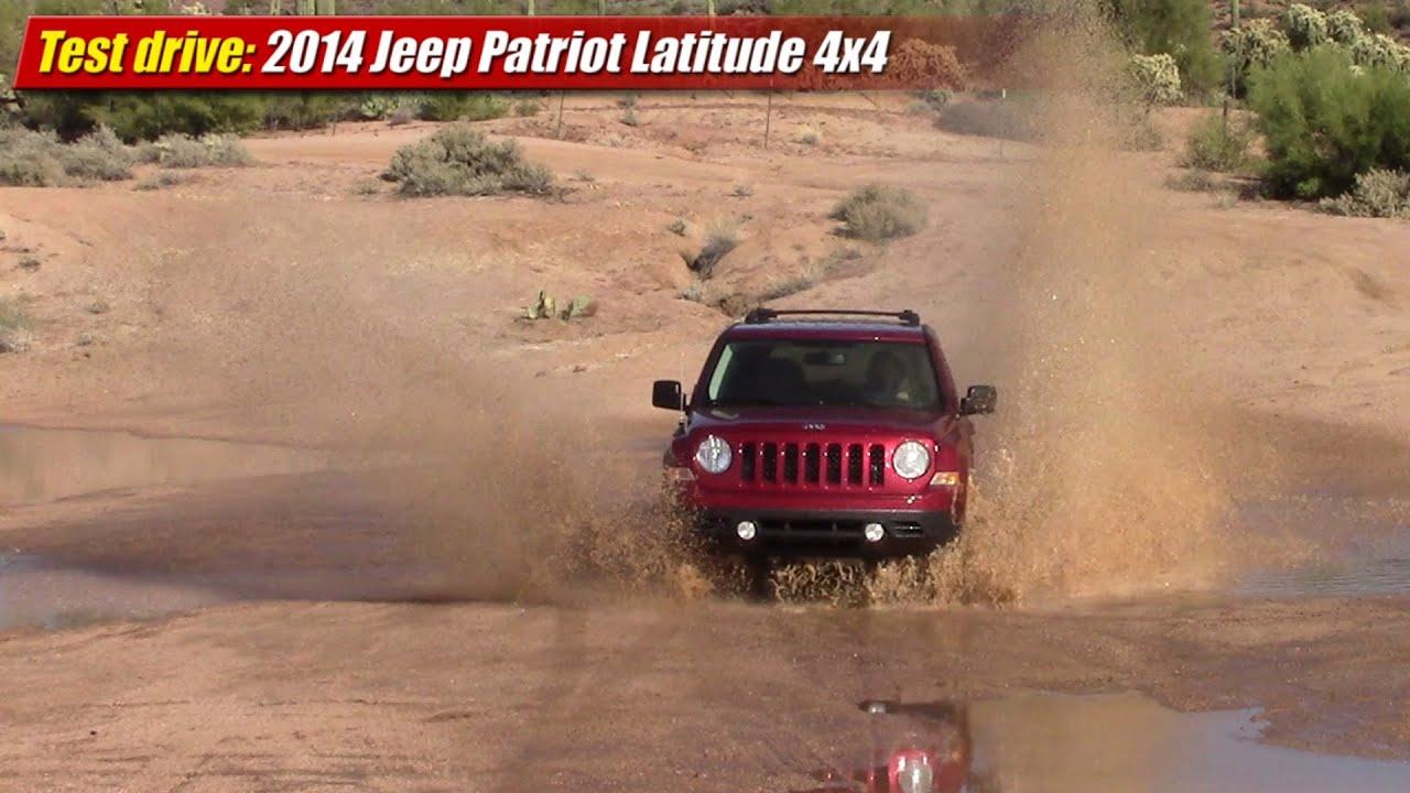Test drive: 2014 Jeep Patriot Latitude 4x4 6-Speed Auto