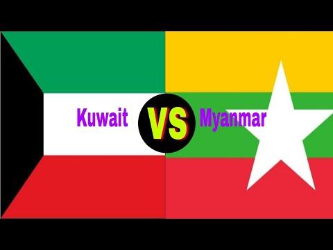 Kuwait VS Myanmar military power comparison 2018