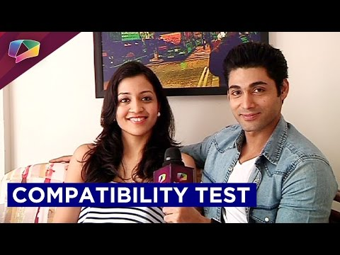 Ruslaan Mumtaz and Nirali Mehta take up the compatibility test
