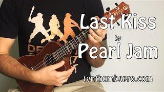 Last Kiss - Pearl Jam - Super Easy Beginner Song Ukulele Tutorial Chords and Lyrics below
