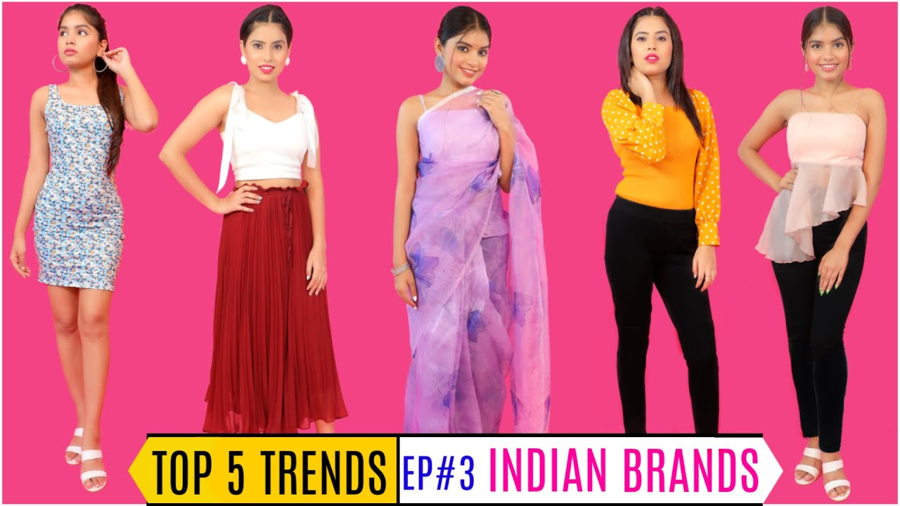 TOP 5 FASHION TRENDS - INDIAN BRANDS To Look Hot & Sexy | Episode 3 | DIYQueen