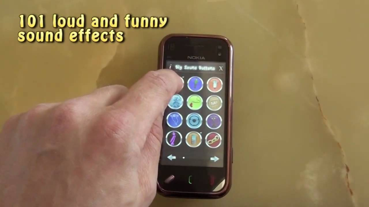 PicoBrothers 'Big Sound Buttons' for Nokia Touch Phones