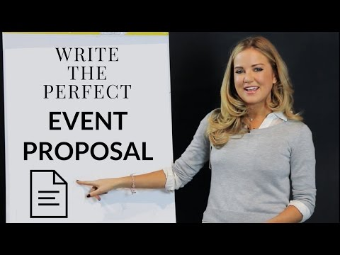 Write the Perfect Event Proposal