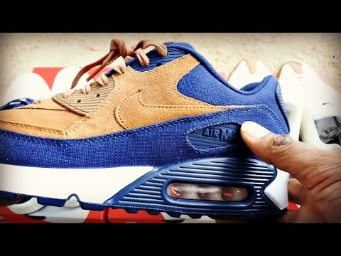 NIKE AIR MAX 90s   95s   HUARACHE  ALE BROWN  PACK Full Review - YouTube d4ab1bf1392f