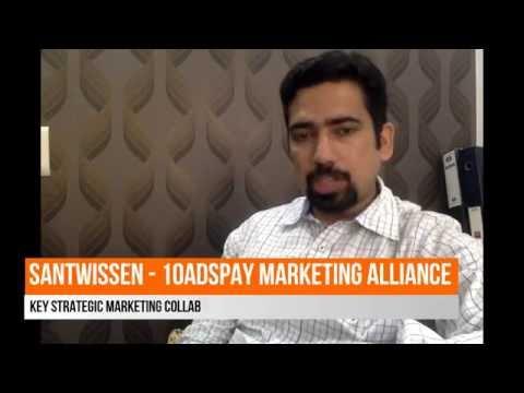 Santwissen and 10AdsPay Key Strategic Martketing Alliance