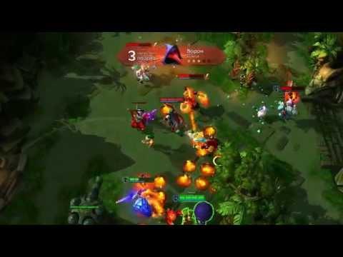 видео: Игра за Ворона (first game on the rook) (strife)