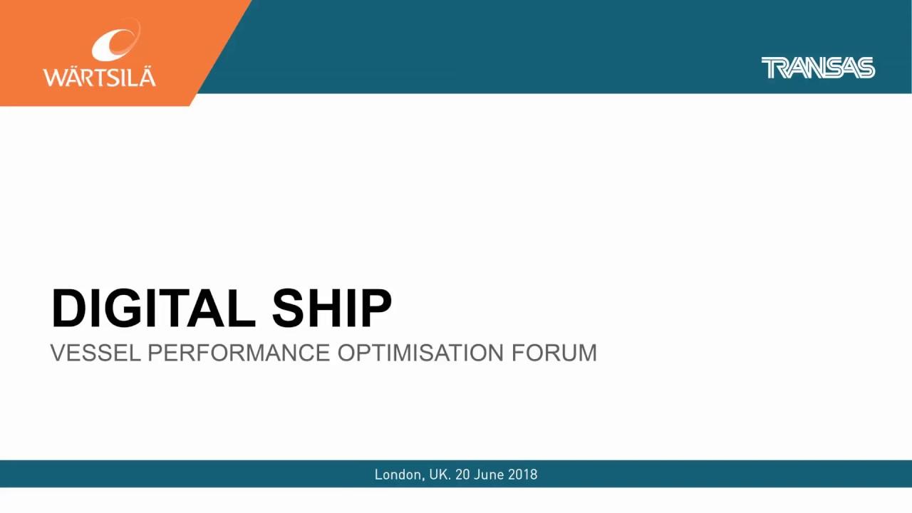 Frank J Coles - Keynote Speech at the Digital Ship VPO Forum