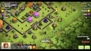 Th9 war and home base layout  2 in 1🔥 with replay's 💓! Only for th9
