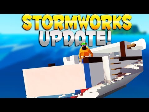 NEW UPDATE! CHARACTER CUSTOMIZATION! - Stormworks: Build and
