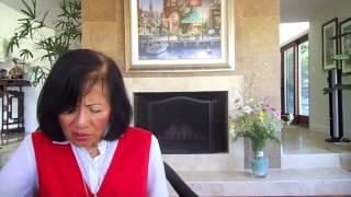 Bernadette Shih reading Ping Ping Panda