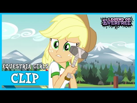 Trying to Fix the Dock - MLP: Equestria Girls – Legend of Everfree [HD]