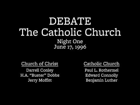 Night 1 | Debate on the Catholic Church (Pottsville, PA)