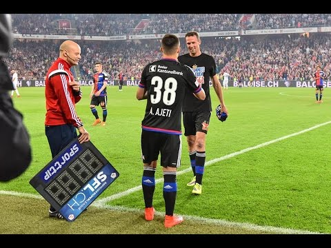 Albian Ajeti | All goals in FC Basel | Born to scoring
