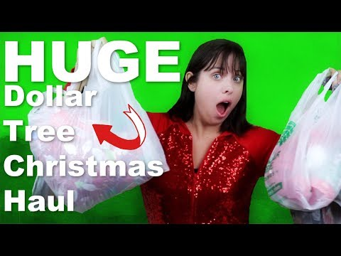 Huge 2018 Dollar Tree Christmas Haul