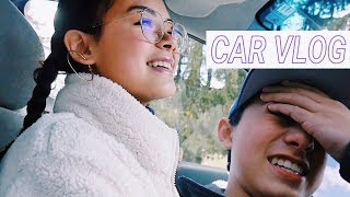 i accidentally abandoned my brother // car vlog